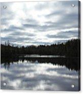 Melancholy Reflections Acrylic Print
