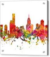 Melbourne Australia Cityscape 08 Acrylic Print