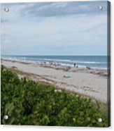 Melbourne Beach Florida November View Acrylic Print