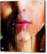 Melissa Face Acrylic Print
