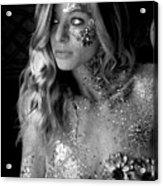 Melissa Sparkles Acrylic Print