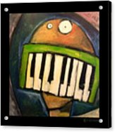Melodica Mouth Acrylic Print