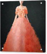 Melody Acrylic Print by Nancy Levan