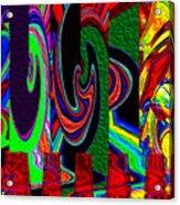 Melt Down Acrylic Print