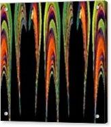 Melting Fusion Acrylic Print