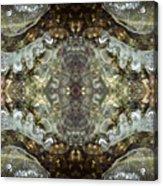 Melting Ice Over Water - Monadnock 2 Acrylic Print