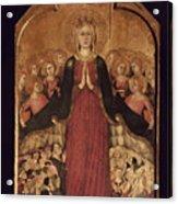 Memmi: Madonna In Heaven Acrylic Print