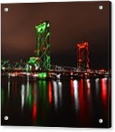 Memorial Bridge Acrylic Print