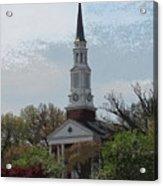 Memorial Chapel Far Acrylic Print