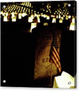 Memorial Day Luminary Acrylic Print