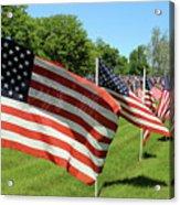 Memorial Day Tribute Acrylic Print