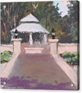 Memorial Garden Lakeside, Ohio Acrylic Print