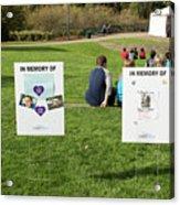 Memorials And Outdoor Bands Acrylic Print