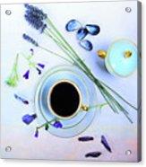 Memories And Coffee Acrylic Print