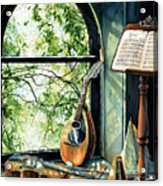Memories And Music Acrylic Print