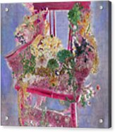 Memories Of Grandmother's Garden Acrylic Print