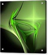 Memories Of Green Acrylic Print