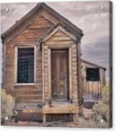 Memories Of Old - Faded Acrylic Print