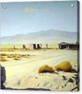 Memories Only Ballerat Calfornia Acrylic Print by Evelyne Boynton Grierson