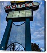 Memphis - Lorraine Motel 001 Acrylic Print by Lance Vaughn
