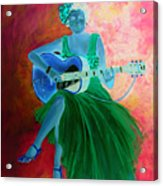 Memphis Minnie Acrylic Print