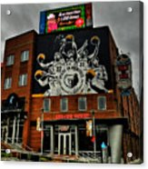 Memphis - Rock 'n' Soul Museum 001 Acrylic Print by Lance Vaughn