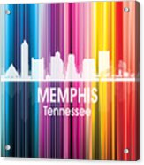 Memphis Tn 2 Squared Acrylic Print