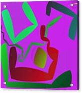 Memory Cube Acrylic Print