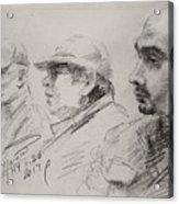 Men 3 Acrylic Print