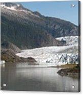 Mendenhall Glacier Alaska Acrylic Print