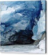 Mendenhall Glacier Face Acrylic Print