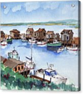 Menemsha Safe Haven Acrylic Print
