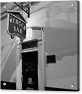 Menger Bar Acrylic Print