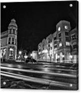 Menomonee And Underwood At Night Acrylic Print