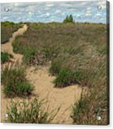Mentor Headlands Beach Trail Acrylic Print