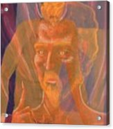 Mephistopheles And Faust The Deal Is Made Acrylic Print