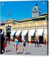 Mercado Centra In Santiago-chile Acrylic Print