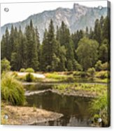 Merced River Yosemite Valley Yosemite National Park Acrylic Print