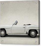 Mercedes 190sl Acrylic Print