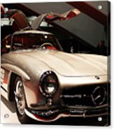 Mercedes 300sl Gullwing . Front Angle Acrylic Print by Wingsdomain Art and Photography