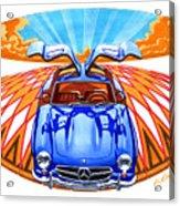 Mercedes-benz 300 Slk Acrylic Print