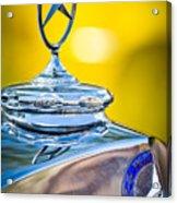 Mercedes-benz Hood Ornament - Emblem -0961c Acrylic Print