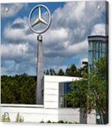 Mercedes - Benz Plant Acrylic Print