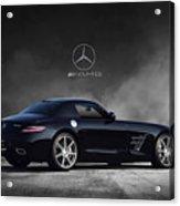 Mercedes Benz Sls Amg Acrylic Print