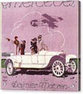 Mercedes Daimler C. 1910 Acrylic Print