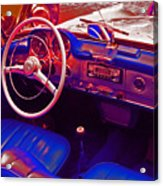 Mercedes Old Style Acrylic Print