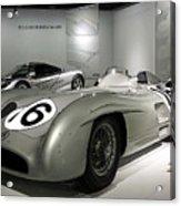 Mercedes Racer Acrylic Print