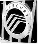 Mercury In Black And White Acrylic Print