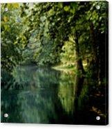 Meremac Springs  Acrylic Print by Brenner Studios