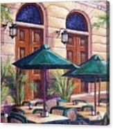 Merida Cafe Acrylic Print